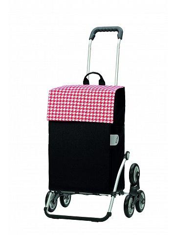 Nákupní taška Andersen TREPPENSTEIGER ROYAL SHOPPER® IKO - DO SCHODŮ, červená