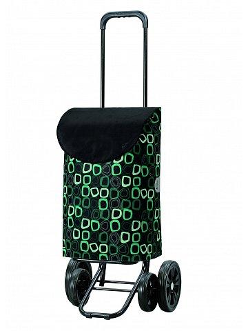 Taška na kolečkách Andersen QUATTRO SHOPPER® LOME, černá