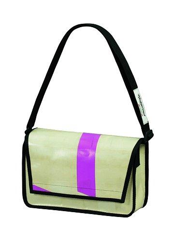 Taška Andersen SCHOOL BAG TRUCK LUZERN XL -  taška z použité plachty nákladních vozidel - každá taška unikát!