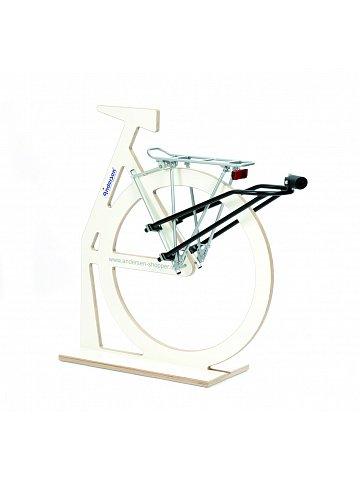 Přípojný mechanismus Andersen R1-BigEasy k připojení tašky na kolečkách k jízdnímu kolu, se zámkem