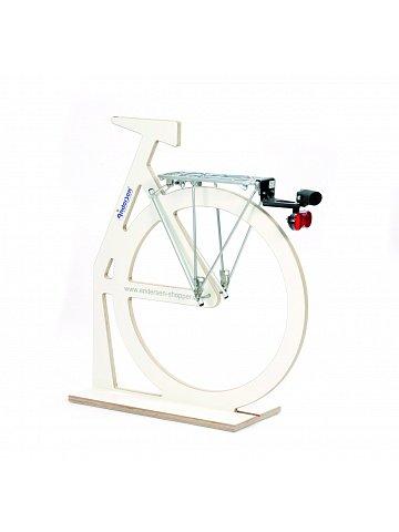 Přípojný mechanismus Andersen A1-EasySnap® k připojení tašky na kolečkách k jízdnímu kolu, se zámkem