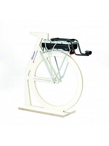 Přípojný mechanismus Andersen A2-RT Roll-it k připojení tašky na kolečkách k jízdnímu kolu, se zámkem