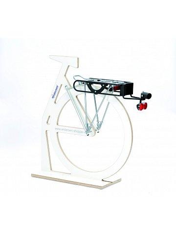 Přípojný mechanismus Andersen G1-PullEasy k připojení tašky na kolečkách k jízdnímu kolu, se zámkem a diodovým světlem