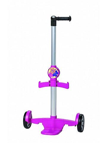 Vozík na školní tašku Andersen newschool SHOPPER® Aluminium, růžový