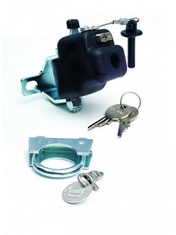 Přípojný mechanismus Andersen FUN pro připojení přívěsného vozíku ke kolu, se zámkem, průměr sedlovky do 32 mm
