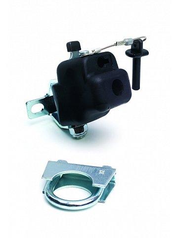 Přípojný mechanismus Andersen FUN pro připojení přívěsného vozíku ke kolu, bez zámku, průměr sedlovky do 28 mm