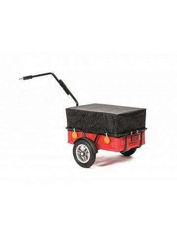 Přívěsný vozík za jízdní kolo a pro volný čas Andersen FUN, včetně plachty a nafukovacích kol