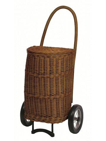Nákupní košík - taška na kolečkách ANDERSEN KORB SHOPPER® NATURA XXL terra
