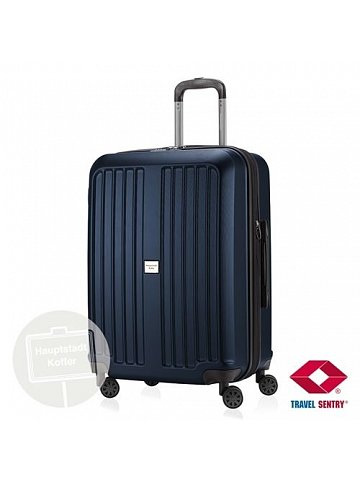 Kufr na kolečkách Hauptstadtkoffer X-BERG, 90l, TSA zámek, tmavě modrý, matný