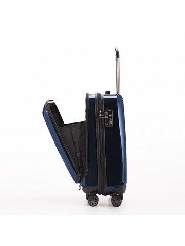 Kufr na kolečkách Hauptstadtkoffer X-BERG, 42l, TSA zámek, tmavě modrý, lesklý
