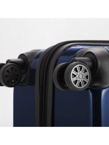 Kufr na kolečkách Hauptstadtkoffer X-BERG, 90l, TSA zámek, tmavě modrý, lesklý