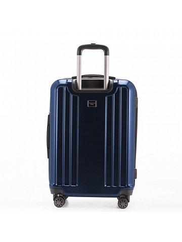 Kufr na kolečkách Hauptstadtkoffer X-BERG, 126l, TSA zámek, tmavě modrý, leský