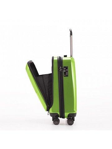 Kufr na kolečkách Hauptstadtkoffer X-BERG, 90l, TSA zámek, zelený, lesklý