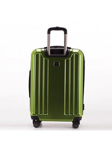 Kufr na kolečkách Hauptstadtkoffer X-BERG, 126l, TSA zámek, zelený, leský