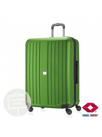 Kufr na kolečkách Hauptstadtkoffer X-BERG, 126l, TSA zámek, zelený, matný