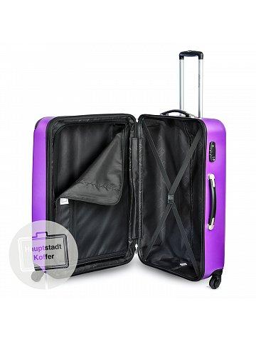 Kufr na kolečkách Hauptstadtkoffer SPREE, 49l, TSA zámek, tmavě fialový