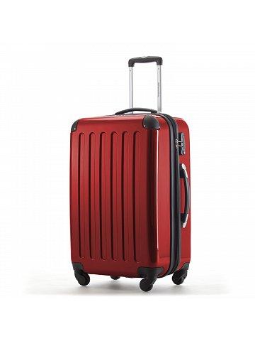 Kufr na kolečkách  Hauptstadtkoffer ALEX, 74l, TSA zámek, červený