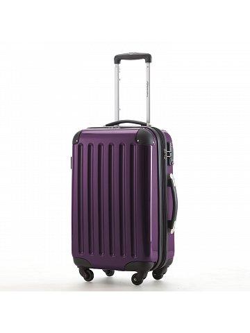Kufr na kolečkách Hauptstadtkoffer ALEX, 42l, TSA zámek, tmavě fialový