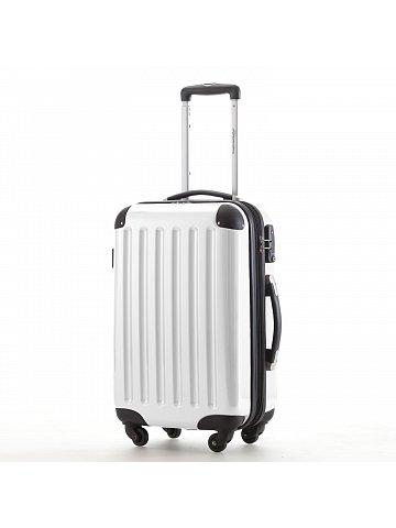Kufr na kolečkách Hauptstadtkoffer ALEX, 42l, TSA zámek, bílý