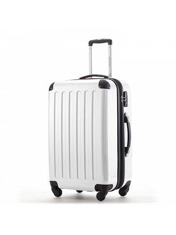 Kufr na kolečkách Hauptstadtkoffer ALEX, 74l, TSA zámek, bílý