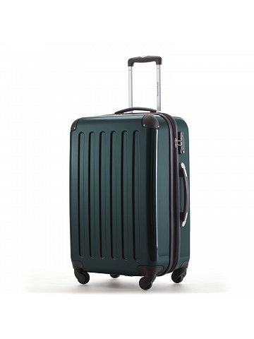 Kufr na kolečkách  Hauptstadtkoffer ALEX, 74l, TSA zámek, zelená lesní