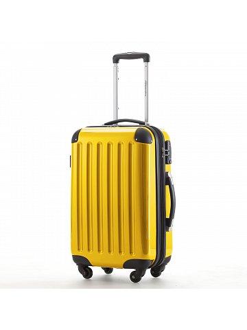 Kufr na kolečkách  Hauptstadtkoffer ALEX, 42l, TSA zámek, žlutý