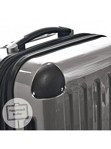 Kufr na kolečkách Hauptstadtkoffer ALEX, 74l, TSA zámek, titanová