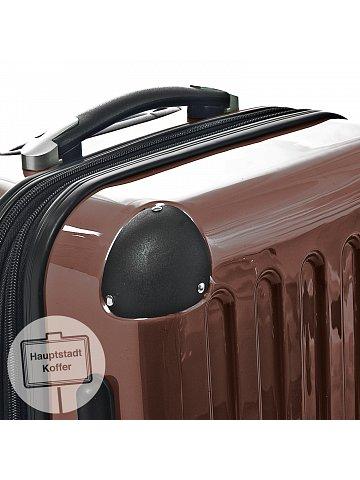 Kufr na kolečkách Hauptstadtkoffer ALEX, 74l, TSA zámek, hnědý