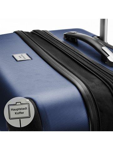 Kufr na kolečkách Hauptstadtkoffer SPREE, 49l, TSA zámek, tmavě modrý