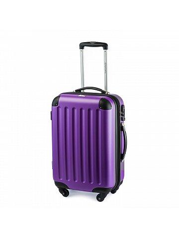 Kufr na kolečkách Hauptstadtkoffer SPREE, 49l, TSA zámek,fialový