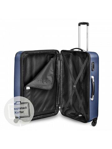 Kufr na kolečkách Hauptstadtkoffer SPREE, 128l, TSA zámek, tmavě modrý