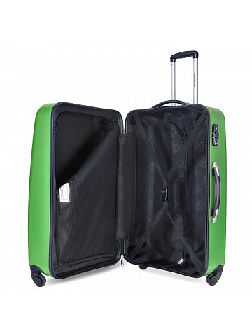 Kufr na kolečkách Hauptstadtkoffer WEDDING, 67l, TSA zámek, zelený