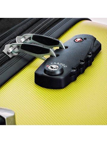 Kufr na kolečkách Hauptstadtkoffer WEDDING, 42l, TSA zámek, žlutý