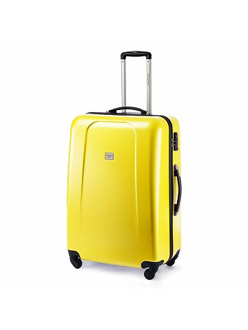 Kufr na kolečkách Hauptstadtkoffer WEDDING, 103l,  TSA zámek, žlutý