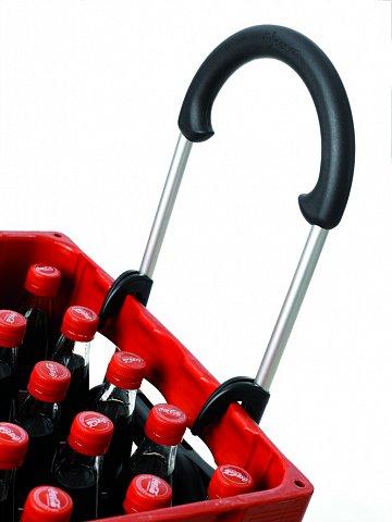 Fixovač nákladu na konstrukci tašky nebo háčky na košík