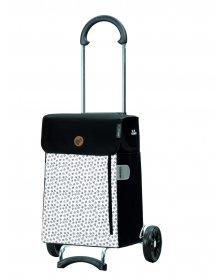 Nákupní taška na kolečkách Andersen Scala Shopper Tuva bílá, 38l