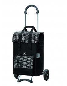 Nákupní taška na kolečkách Andersen Scala Shopper Jara černá, 51l