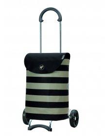 Nákupní taška na kolečkách Andersen Scala Shopper Ida černá, 36l