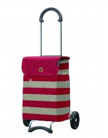 Nákupní taška na kolečkách Andersen Scala Shopper Lina červená, 34l