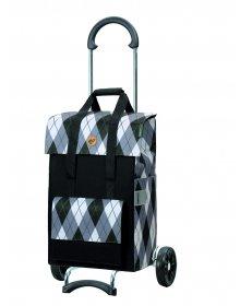 Nákupní taška na kolečkách Andersen Scala Shopper Ine šedá