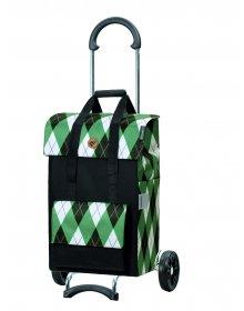 Nákupní taška na kolečkách Andersen Scala Shopper Ine zelená