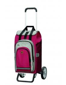 Nákupní taška na kolečkách Andersen Alu Star Shopper Hydro 2.0 červená