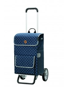 Nákupní taška na kolečkách Andersen Alu Star Shopper Tamo, modrá, 51l