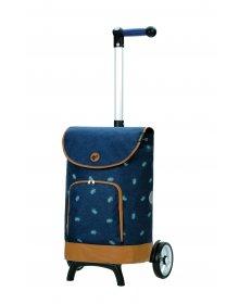 Nákupní taška na kolečkách Andersen Unus Shopper Fun Holm modrá