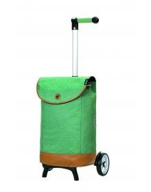 Nákupní taška na kolečkách Andersen Unus Shopper Fun Emil zelená
