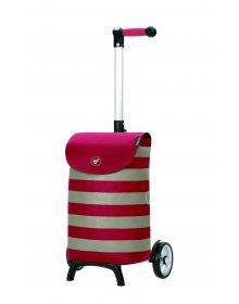 Nákupní taška na kolečkách Andersen Unus Shopper Fun Ida červená