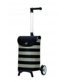 Nákupní taška na kolečkách Andersen Unus Shopper Fun Ida černá