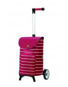 Nákupní taška na kolečkách Andersen Unus Shopper Fun Mia červená