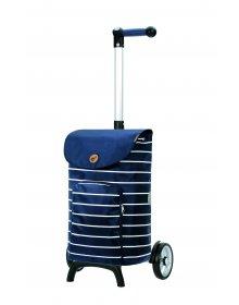 Nákupní taška na kolečkách Andersen Unus Shopper Fun Mia modrá
