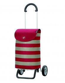 Nákupní taška na kolečkách Andersen Scala Shopper Plus Ida červená, 36l